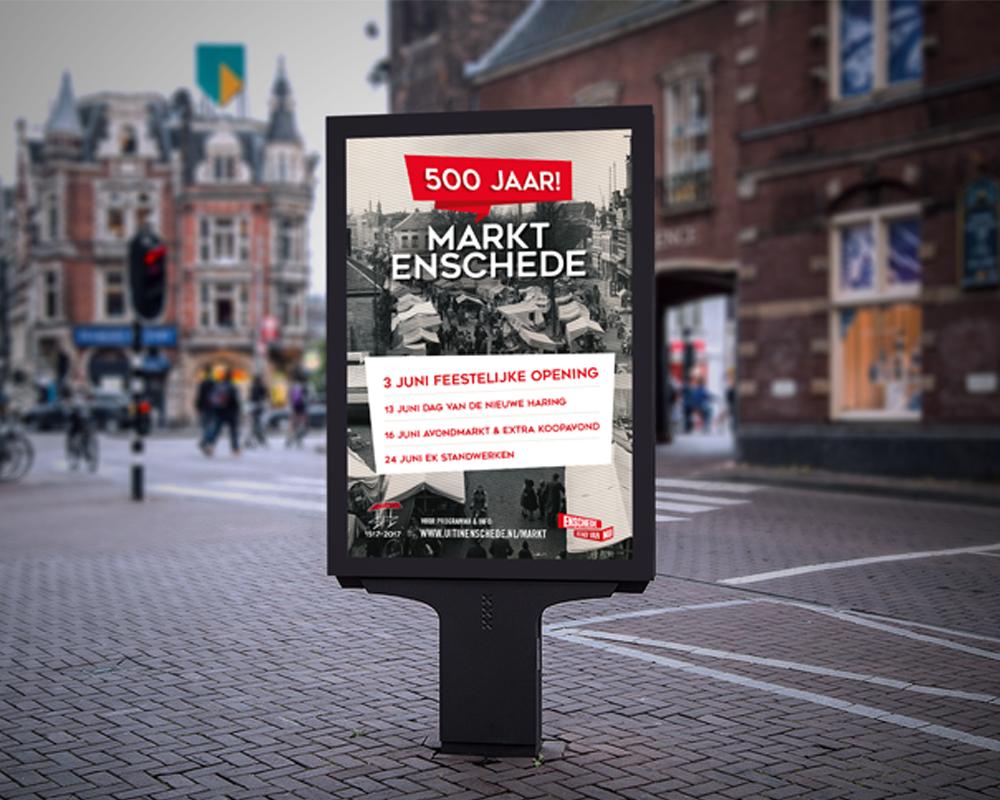 Stichting Enschede Promotie - Markt 500 jaar